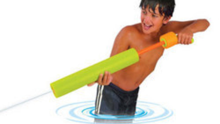 Original vs Evolution water shooter toys